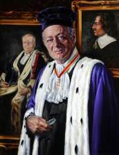 Adams, Elizabeth M.; Sir de Vic Carey (b.1940), Bailiff of Guernsey; Royal Court, Guernsey; http://www.artuk.org/artworks/sir-de-vic-carey-b-1940-bailiff-of-guernsey-136807