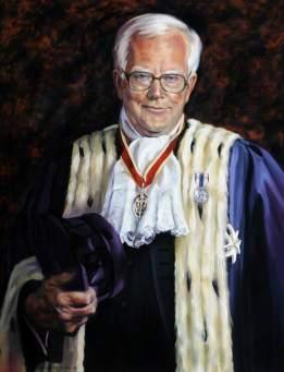 Adams, Elizabeth M.; Sir Graham Martyn Dorey (b.1932), Kt, Bailiff of Guernsey (1992-1999); Royal Court, Guernsey; http://www.artuk.org/artworks/sir-graham-martyn-dorey-b-1932-kt-bailiff-of-guernsey-19921999-136806